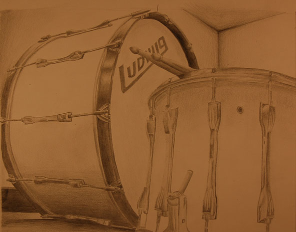 My High Schools Drumline Equipment Graphite